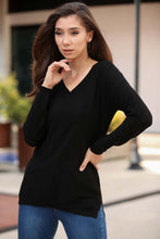 Load image into Gallery viewer, Women's Black Tricot Sweater