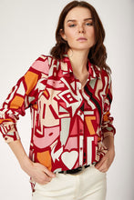 Load image into Gallery viewer, Women's Graphic Pattern Viscose Shirt