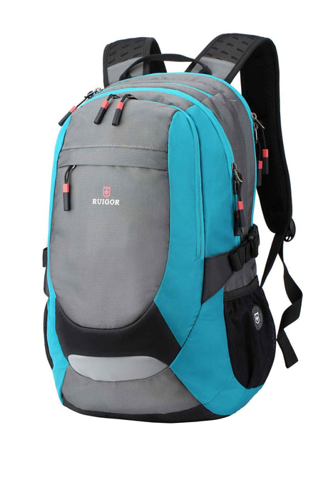 RUIGOR ACTIVE 29 Laptop Backpack Blue Grey - Unique Style
