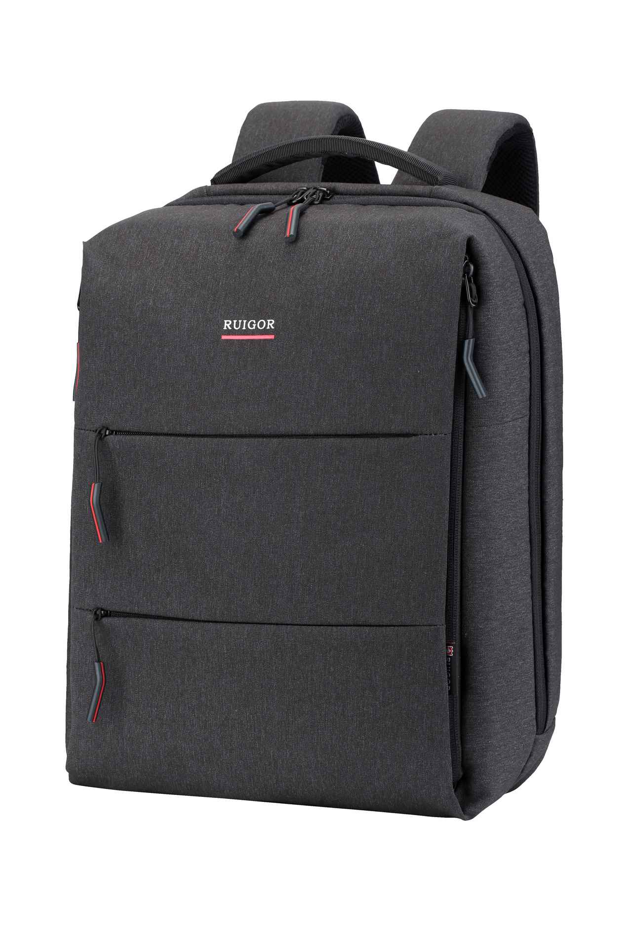 RUIGOR CITY 37 Laptop Backpack Dark Grey - Unique Style
