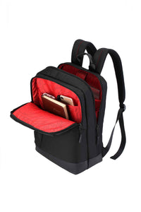 RUIGOR CITY 38 Laptop Backpack Black - Unique Style