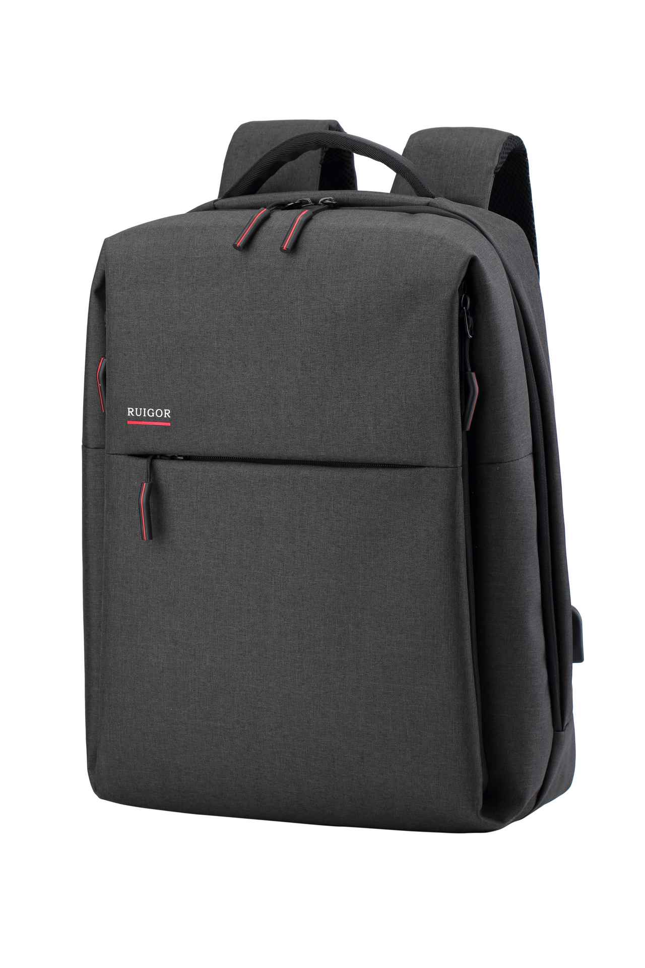 RUIGOR CITY 56 Laptop Backpack Dark Grey - Unique Style