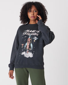 Women's Printed Smoky Sweatshirt