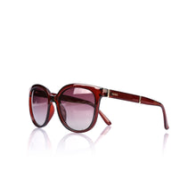 Load image into Gallery viewer, Women's Red Plastic Frame Sunglasses