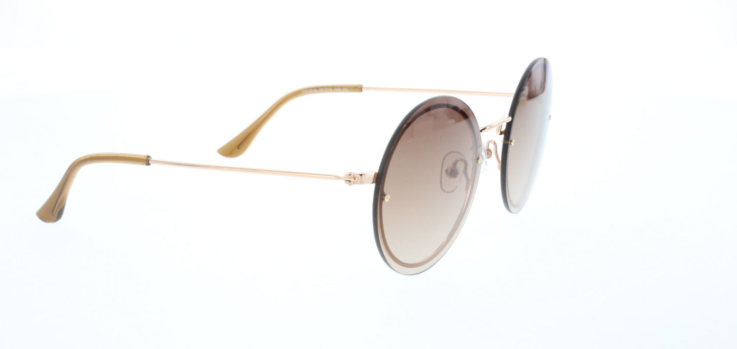 Unisex Brown Sunglasses