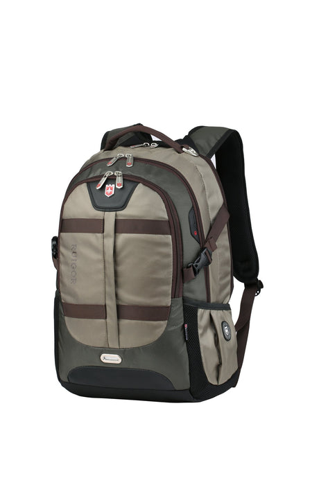 RUIGOR ACTIVE 00 Laptop Backpack Olive green - Unique Style