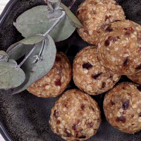 Healthy ANZAC Biscuit Protein Ball Recipe