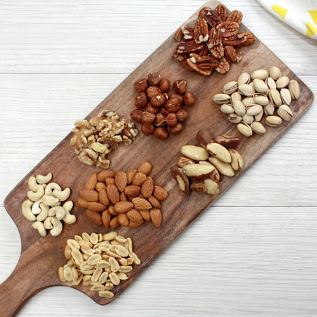 Comparing nuts and their health benefits