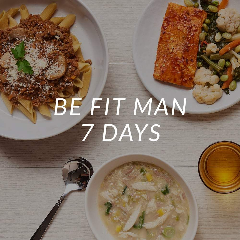 Be Fit Man | 7 Days