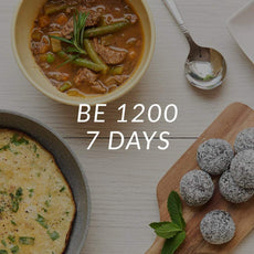 Be 1200 | 1200 Calories | 7 Days <br> (Breakfast, Entree, Lunch, Entree, Dinner & 1 x Snack/Day)