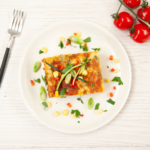 Vegetable & Chickpea Frittata (GF) (V)