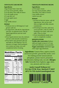 simply paleo cake mix back cover