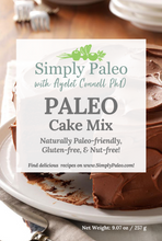 Load image into Gallery viewer, simply paleo cake mix front cover