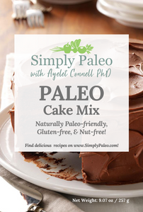 simply paleo cake mix front cover