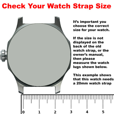 Max Watch Strap Measure Lugs