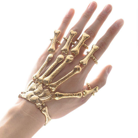 Image of Skeleton Finger Bracelet