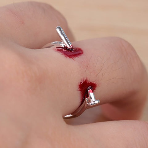 Image of Nail Thru Finger Ring