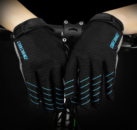 Image of Cycling Full Finger Touch Screen Gloves