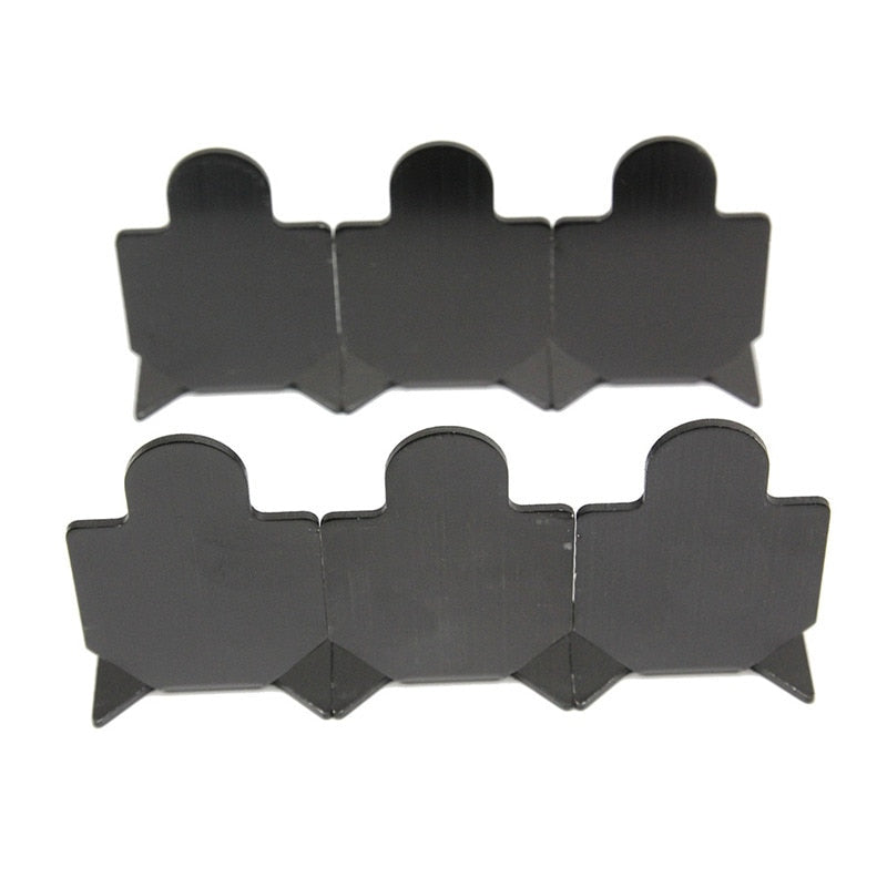 Metal Target Air Rifle 6Pcs