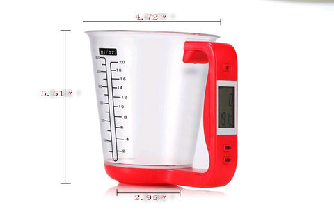 Image of Digital Electronic Measuring Cup