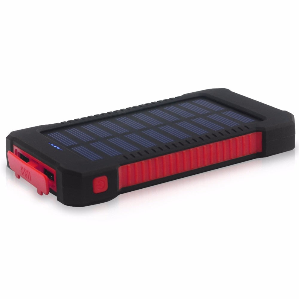 Solar Panel Power Bank 20000mah