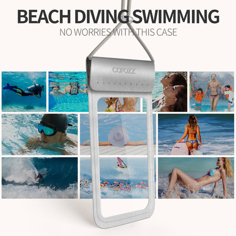 Waterproof Phone Case Touchscreen Cover