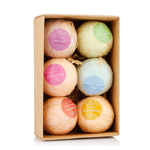 Bath Bombs 6 Pieces Handmade