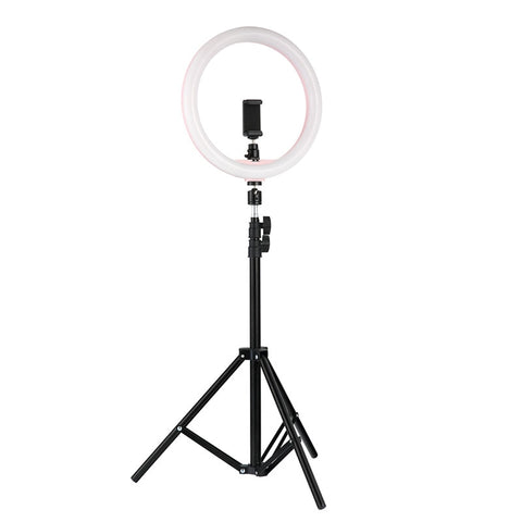 "Image of LED Ring Light 12"" Dimmable"