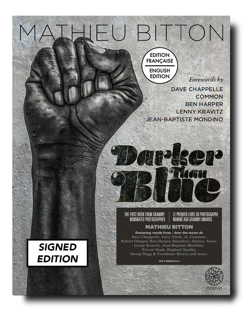 DARKER THAN BLUE - Signed Edition