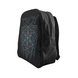TROY Virtue Black School Backpack