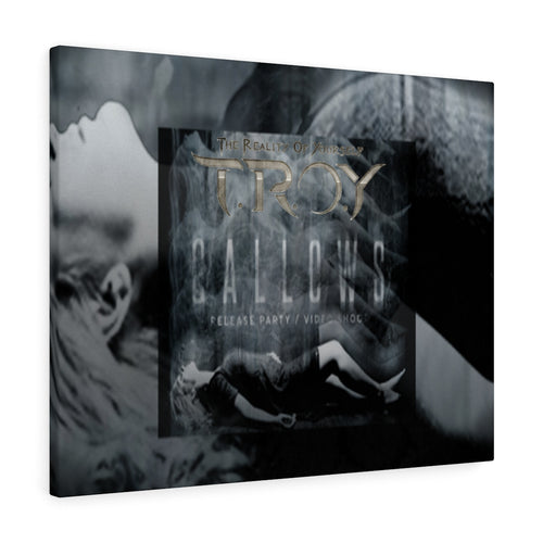 Gallows Promo Canvas Gallery Wrap - TROY The Reality Of Yourself
