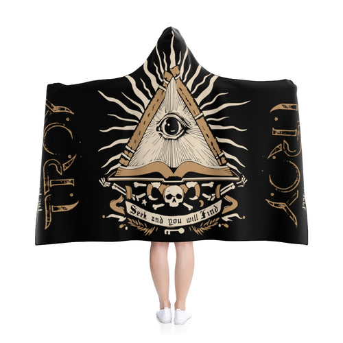 TROY Seek and Find Hooded Blanket