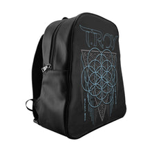 Load image into Gallery viewer, TROY Virtue Black School Backpack