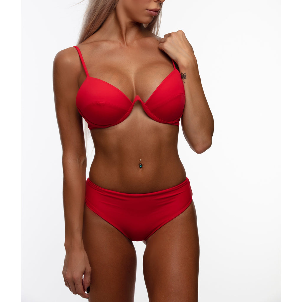 CHRISTAL Top - Red