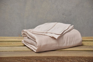 Queen - Macadamia Luxury 100% Organic Bamboo Bed Sheet Sets