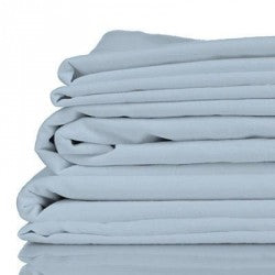 King - Misty Blue Luxury 100% Organic Bamboo Bed Sheet Sets