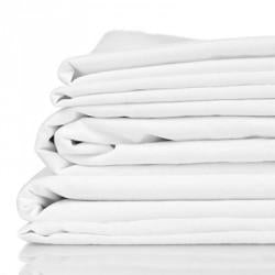 King - White Premium 100% Organic Bamboo Bed Sheet Sets - Bamboo Beach Shack QLD, VIC, WA, NT, SA, TAS, ACT