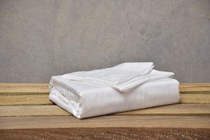 King - White Luxury 100% Organic Bamboo Bed Sheet Sets