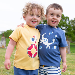Kite clothing colourful t-shirt for toddlers and children