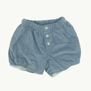 Hardly Worn My H  blue cord bloomers size 9-12 months