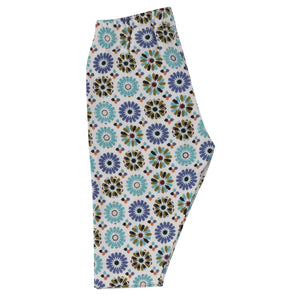 Capri leggings in Cordoba print