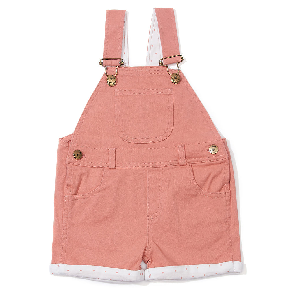 Dungaree Shorts in Arizona Pink