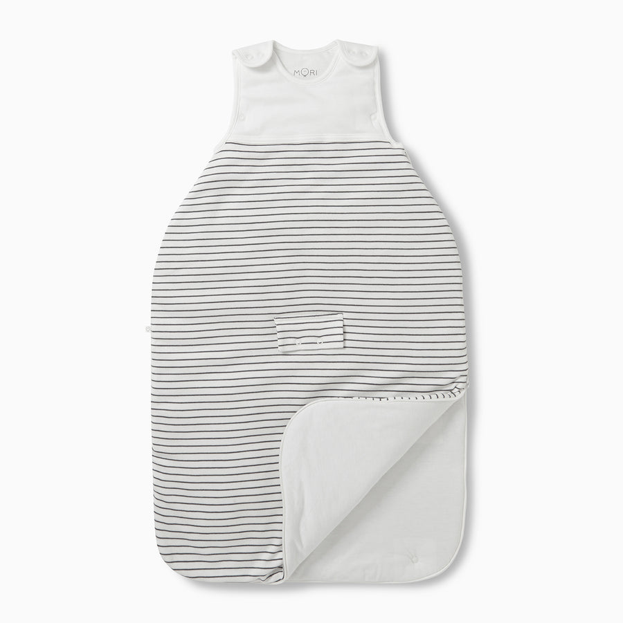 Clever Sleeping Bag in Grey Stripe