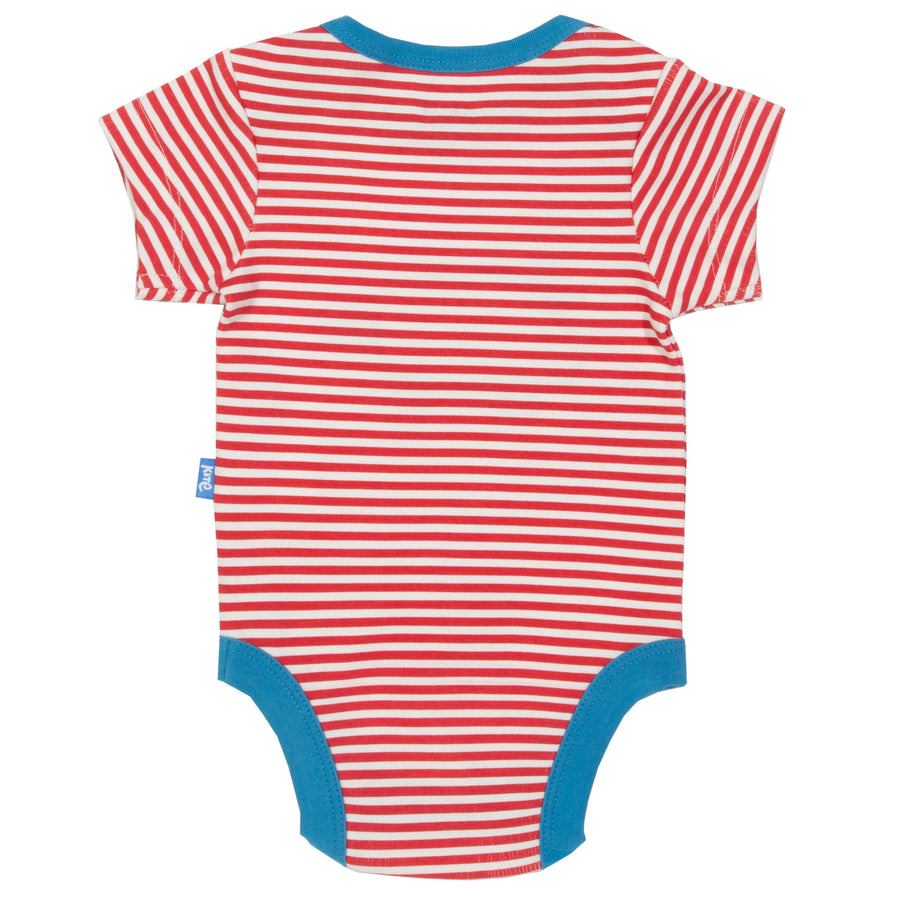 Farm Life stripe bodysuit