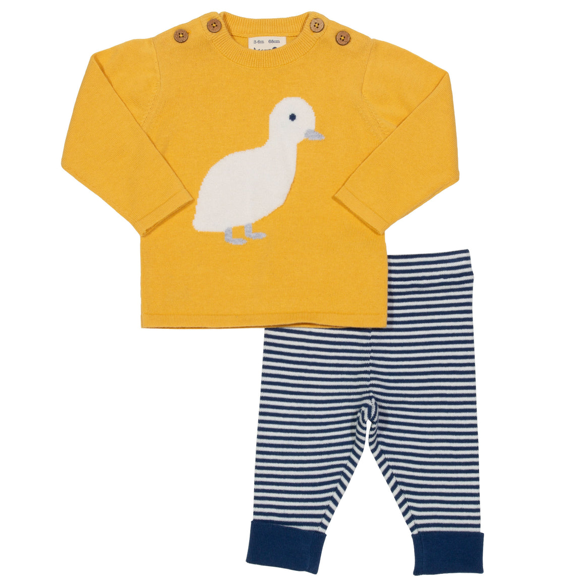 Duckling knit set