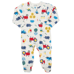 Farm life sleepsuit