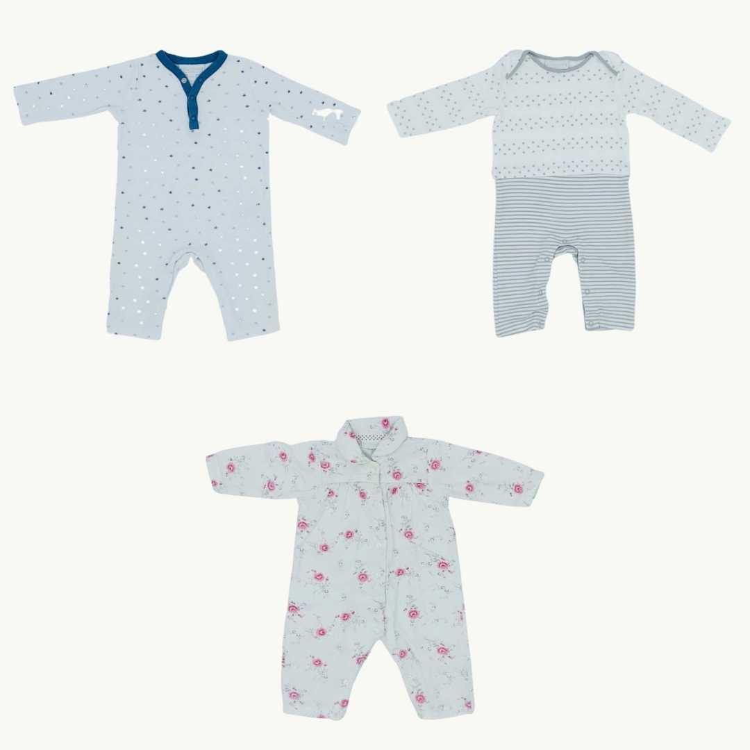 Hardly Worn The White Company romper bundle Size 6-9 months
