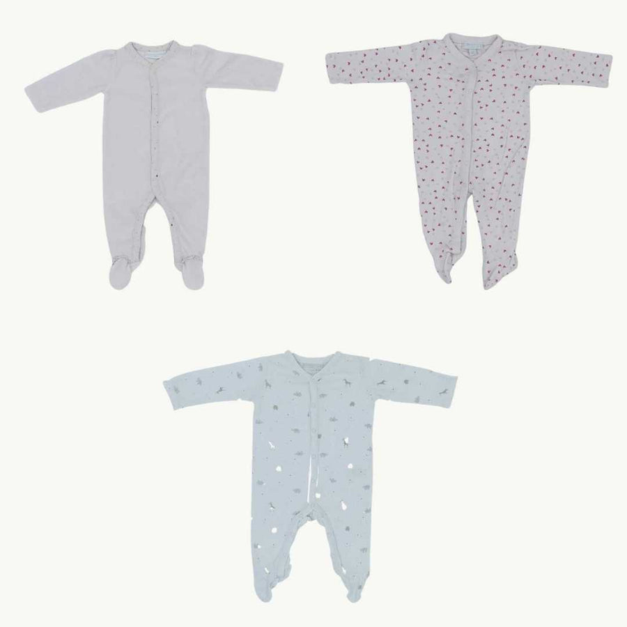 The White Company sleepsuit bundle Size 3-6 months
