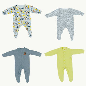 Hardly Worn John Lewis sleepsuit bundle Size 0-3 months