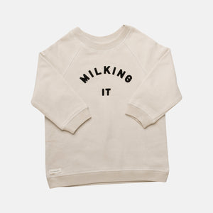 Milking It Organic Sweater